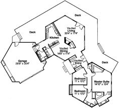 octagon cottage plans log home plans ~ home plan and house design