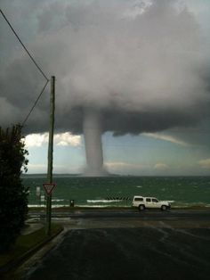 Waterspout off Batemans Bay Nsw Australia