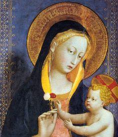 ANGELICO, Fra, San Domenico Altarpiece (detail), 1423-24.