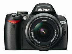 Nikon D60 10.2MP Digital SLR Camera with 18-55mm f/3.5-5.6G AF-S DX VR Nikkor Zoom Lens