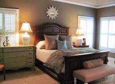 Elegant Guest Bedroom Ideas with Beautiful Headboard Picture