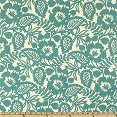 Waverly Esmee Turquoise  Item Number: UG-449  Our Price: $9.98 per Yard