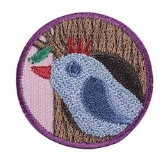 Girl Scout Junior Animal Habitat Badge. Check out the requirements in The Girl's Guide to Girl Scouting.  Girl Scout badges $1.50.