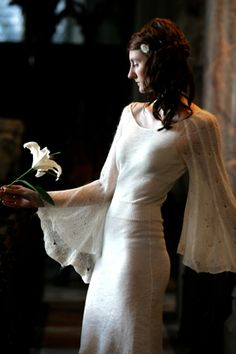 Florence knitted wedding dress