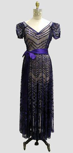 Evening dress, 1939
