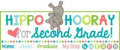 Hippo Hooray for Second Grade!