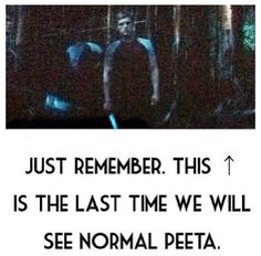 "I must be killing you guys with these ""Real Peeta"" pins. Forgive me."