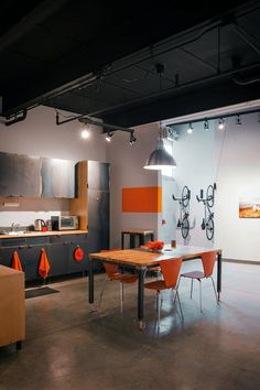 Firefly Bicycles: Front Office Kitchen