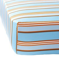 Stripes are definitely in! And these are perfect for a boy's nursery. $36, SerenaandLily.com