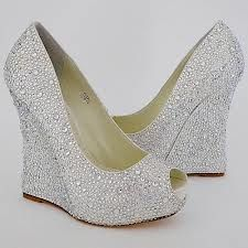BRIDAL WEDGE SHOES