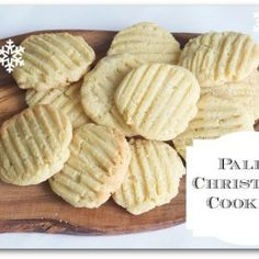 christmas cookie recipes, christma cooki, almond flour cookies, almonds, bake, paleo, coconut oil, gluten free, almond cookies
