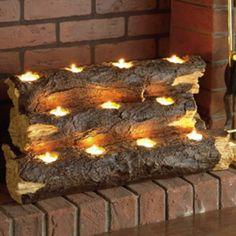 Great fireplace idea