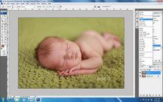 How to Achieve Creamy Newborn Skin Using Photoshop