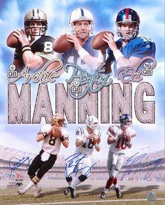 Archie, Peyton, & Eli Manning...