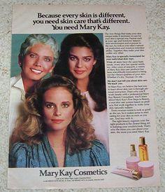 You need Mary Kay!