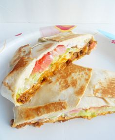 YES! homemade crunchwrap supreme