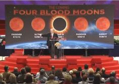 Pastor John Hagee, noted teacher of end times prophesy, delivers a three sermon series on the four blood moons. The first blood moon will occur on the first day of Passover. This has only happened twice in the past five thousand years and both times were accompanied by a huge historical event. Click the web link to watch all three sermons.  This is a must see!  Are you rapture ready?