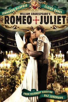Romeo and Juliet, 1996. Leonardo DiCaprio & Claire Danes.