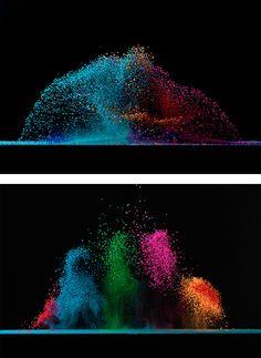 Dancing Colors by Fabian Oefner