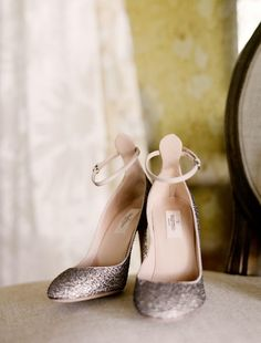 """Ankle straps are sexy.   If you're a fan of heels over 2"""", these are great.   Valentino shoes via once wed"""