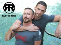 Beautiful couple for Ruff Riders