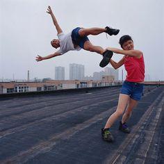 breaking up, artists, photograph, dreams, joke, funny photos, blog, swing, li wei