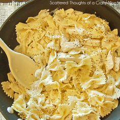 This Creamy Lemon Chicken Pasta is a quick and delicious meal for the busy weeknights ahead. You can use either fresh chicken and real lemons or precooked chicken and bottled lemon juice to make this dish.