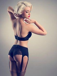 up styles, fashion glamour, sexi, boudoir, beauti, black lingerie, pinup, pin up girls, garter belts