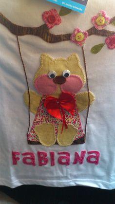 Camiseta patchwork para niña