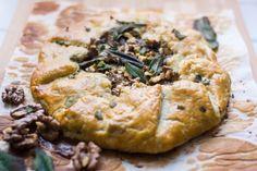 Thanksgiving Recipes : Mushroom Galette Recipe