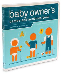 ThinkGeek :: Baby Owner's Games and Activities Book