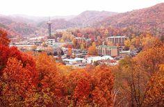 Gatlinburg, TN in Fall