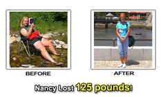 Nancy Lost 125 Pounds on TOPS and by walking - Weight Loss Success Stories Before and After