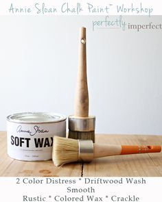 Our first Chalk Paint (tm) workshop!! Details for learning 6 techniques on the blog...