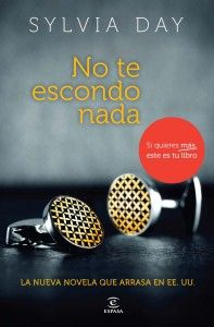 No te escondo nada. Silvia Day [Haz click para leer la recomendación] christians, escondo nada, editorial, te escondo, grey, crosses, blog, libro, crossfire