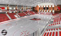 Miami Redhawks Hockey Arena <3