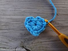 How to Crochet A Heart, Stitch by Stitch, great share, thanks so xox