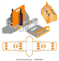 Bottle Carrier Box,