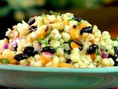 Grilled Corn and Bean Salad Recipe