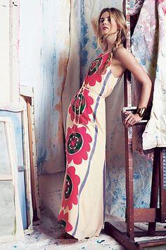 Mira Costa Maxi Dress #anthropologie