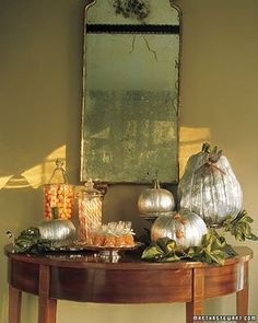 Cute for entry way table decor