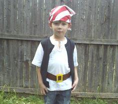 easy homemade pirate halloween costumes