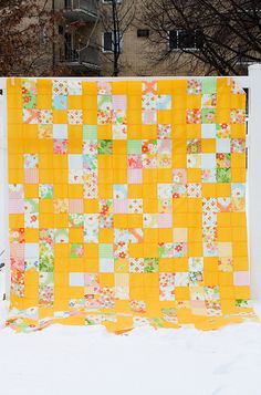 Great yellow quilt