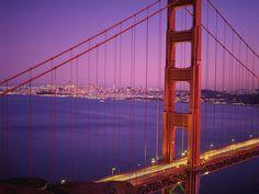 The Magestic Golden Gate Bridge, San Francisco, CA. USA