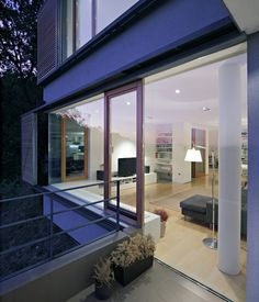 fixed glass with wood trim openings