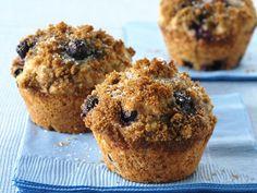 Whole Wheat-Blueberry Muffins