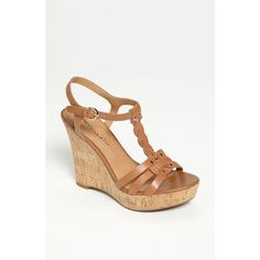 My new summer wedges by Franco Sarto. 'Suzy' Sandal from Nordstrom (the best place to buy shoes!) fashion place, wedge shoes, franco sarto shoes, wedge sandals, corks, wedges, fashion looks, sarto suzi, eye