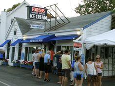 Four Seas Ice Cream, Centerville, MA