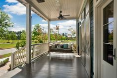 M&M Show House 2011 - transitional - porch - new orleans - Maria Barcelona Interiors, LLC
