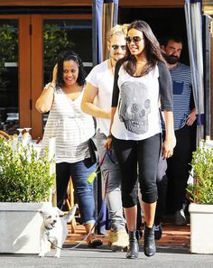 Celebrity bump watch: Zoe Saldana Steps Out in a Casual Rocker-Chic Maternity Outfit